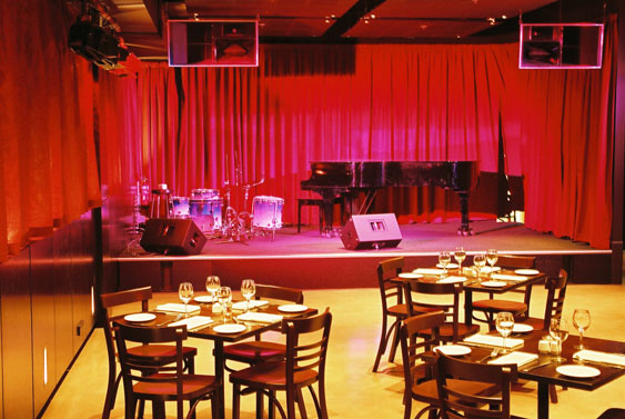 Resolution 4S Loudspeakers installed at an Australian Jazz Club