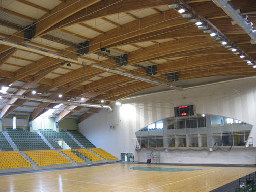 Polish Sports Arena with 4 x AX88s