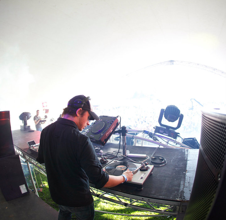 Andy C using RM18 Monitors