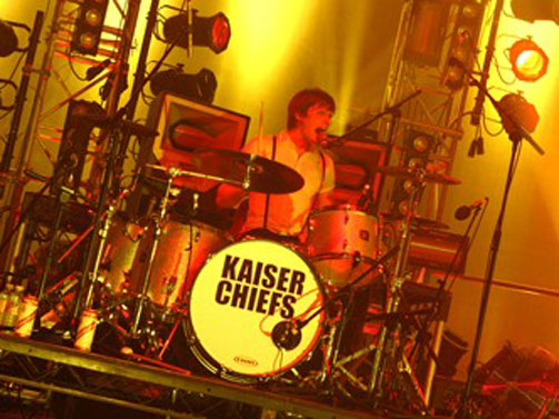 Kasier Chiefs UK Tour - Resolution 2 Drum Fills