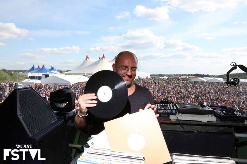 Sven Vath - Cocoon using PSM318 DJ Monitor at We are fstvl - England May 2013