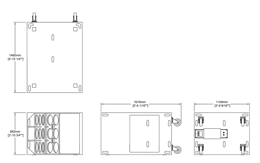 F132 Technical Drawing